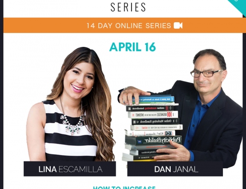 """Dan Janal Featured on Lina Escamilla's """"Business Mastery Series"""""""