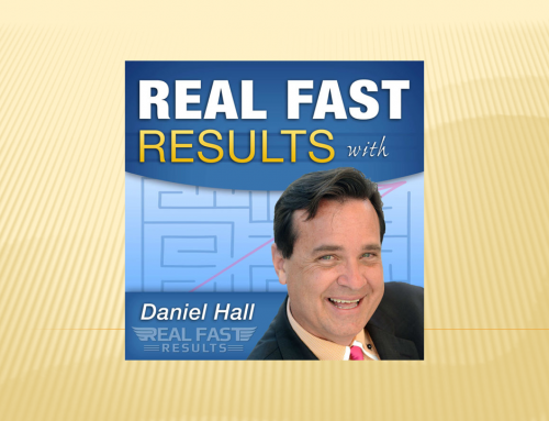"Dan Janal Featured on Daniel Hall's ""Real Fast Results Podcast"""