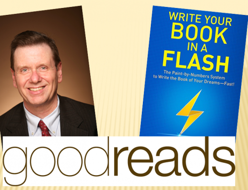 """Write Your Book In A Flash"" Praised By Book Publishing Authority, W. Terry Whalin"
